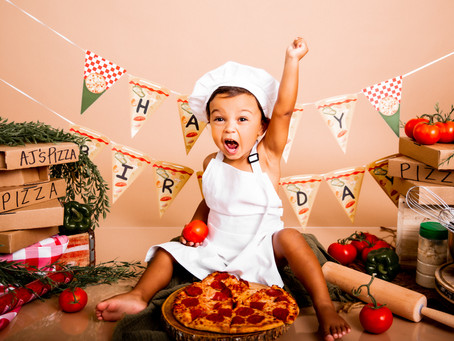 Pizza Themed Photo Session