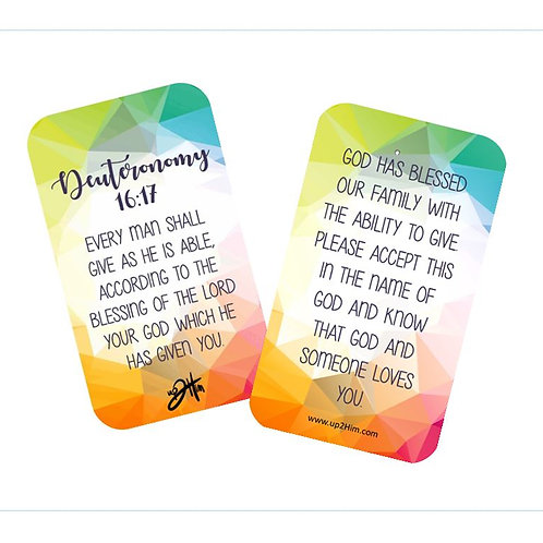 Blessing Cards (Pay it Forward)