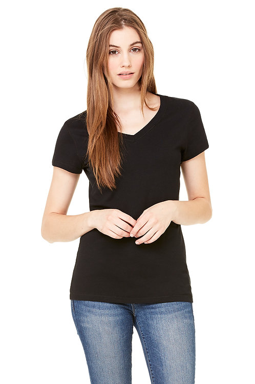 """""""Here-There-Everywhere"""" Women's Up2Him T-shirt (V-Neck/Fitted)"""