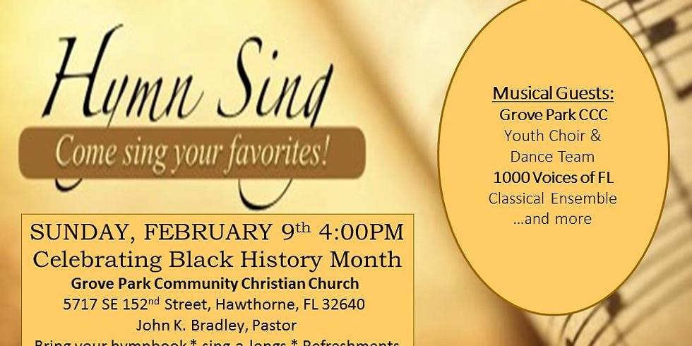Hymn Sing - Grove Park Community Christian