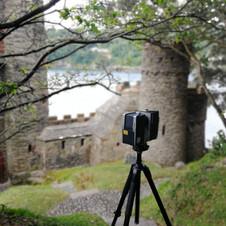 Kingswear Castle Scanning