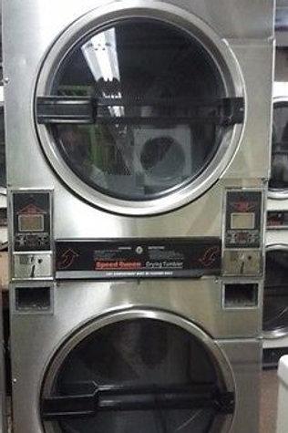 Speedqueen Dryer 30lb, Double Dryer in Stainless Steel