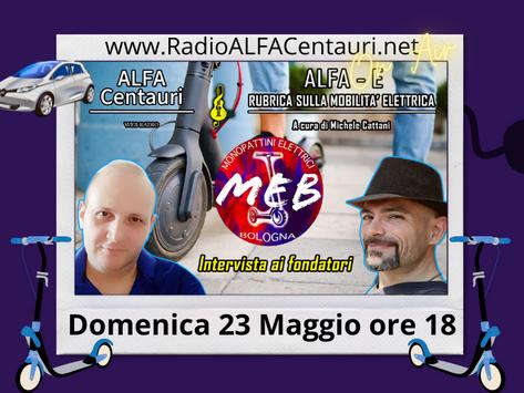 Alfa E / MEB: i monopattini elettici a Bologna