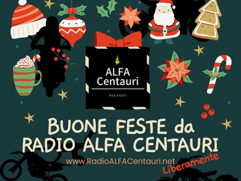 Buone Feste da RADIO ALFA CENTAURI