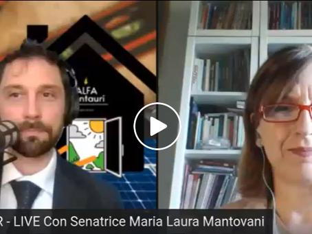 La Senatrice Maria Laura Mantovani risponde alle domande sul Superbonus 110%