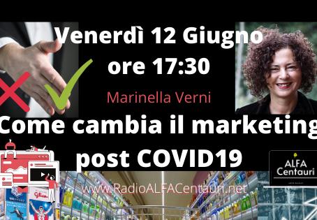 Come cambia il marketing post COVID19