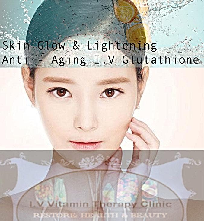 anti aging glutathione iv vitamin therap