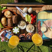 Het ontbijtje aan het Frankeven.