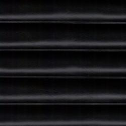 "Black 1.5"" Pleated Quilt"