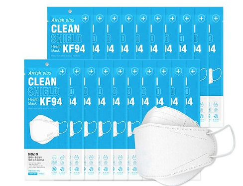 Plus CLEAN SHIELD Health Mask KF94 (20pcs)