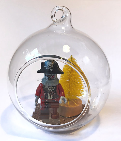 Zombie Pirate Bauble