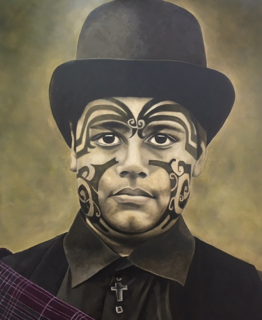 Maori Boy, Christian, Celtic