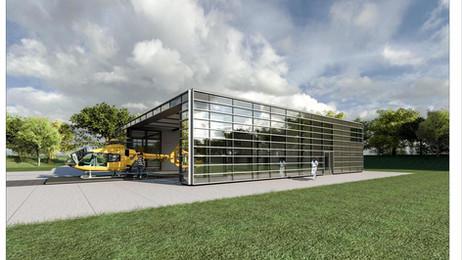Neubau Luftrettungsstation | BGU Ludwigshafen