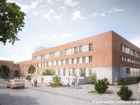 Fast 40 Millionen Euro Fördermittel für Erweiterungsbau am St. Marien- und St. Annastiftskrankenhaus