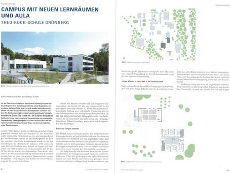 "Projekt ""TKS Grünberg"" im Architektur-Sonderheft ""Schulen 2019"""
