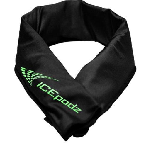 Black w green logo