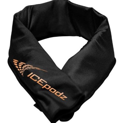 Black w orange logo