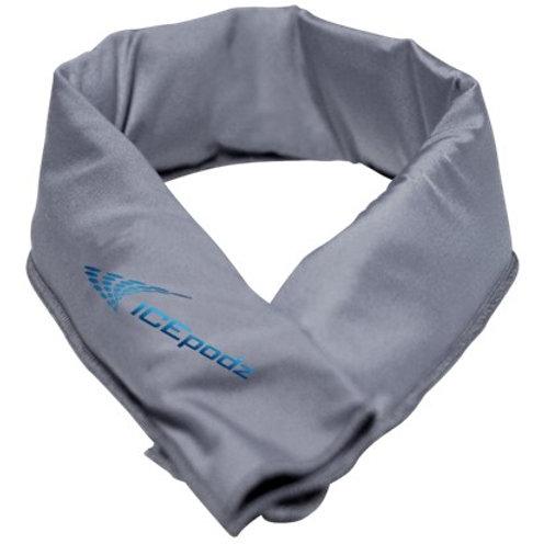 Grey w blue logo