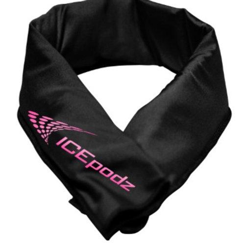 Black w pink logo