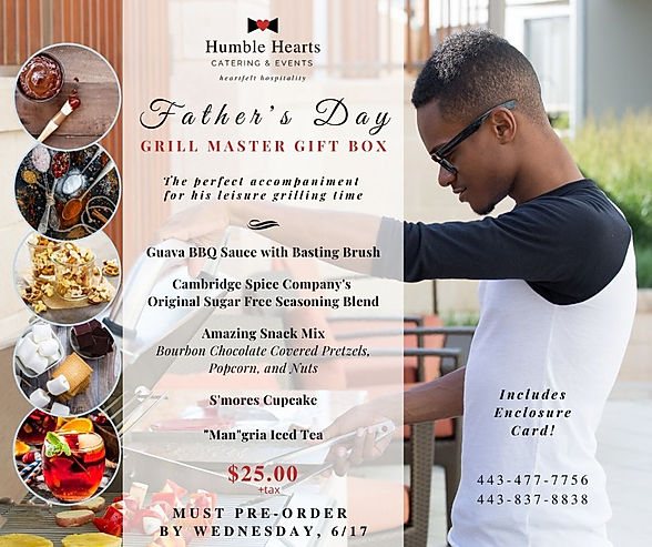 Father's Day Grill Master Gift Box