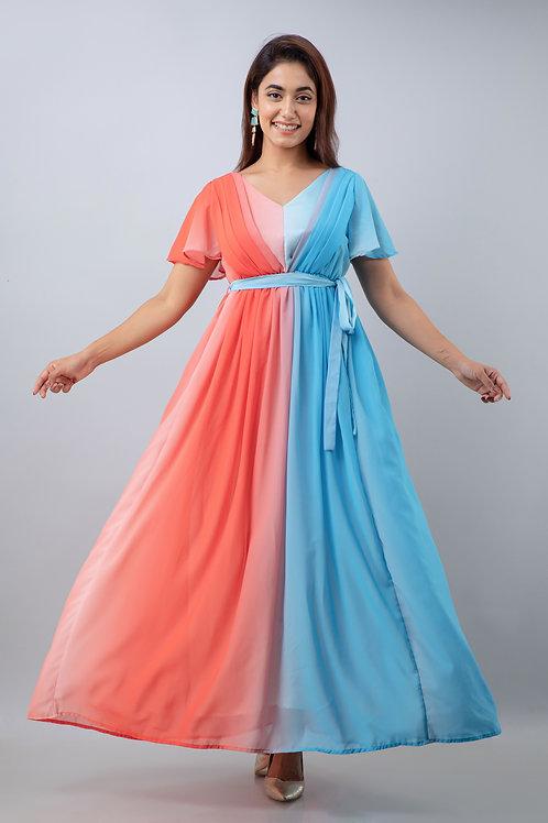 Coral Beach Dress