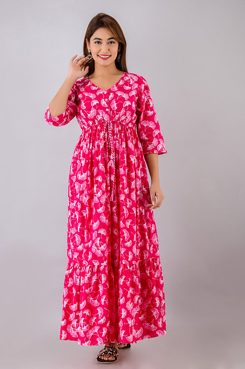 Ginko love maxi dress