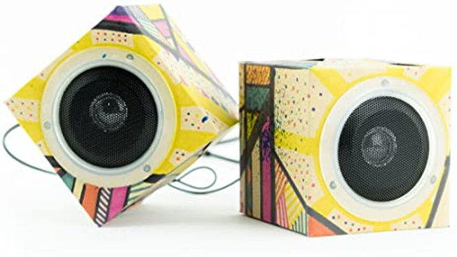 Seedling Design Your Own Cardboard Speakers