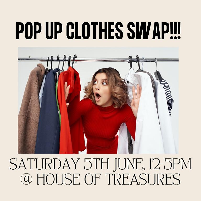 Pop Up Clothes Swap
