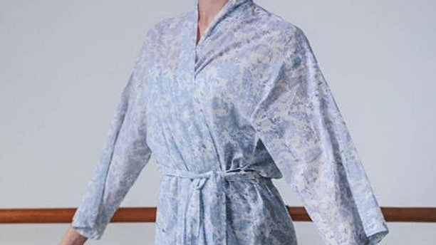 Pure Cotton Indian Dressing Gown