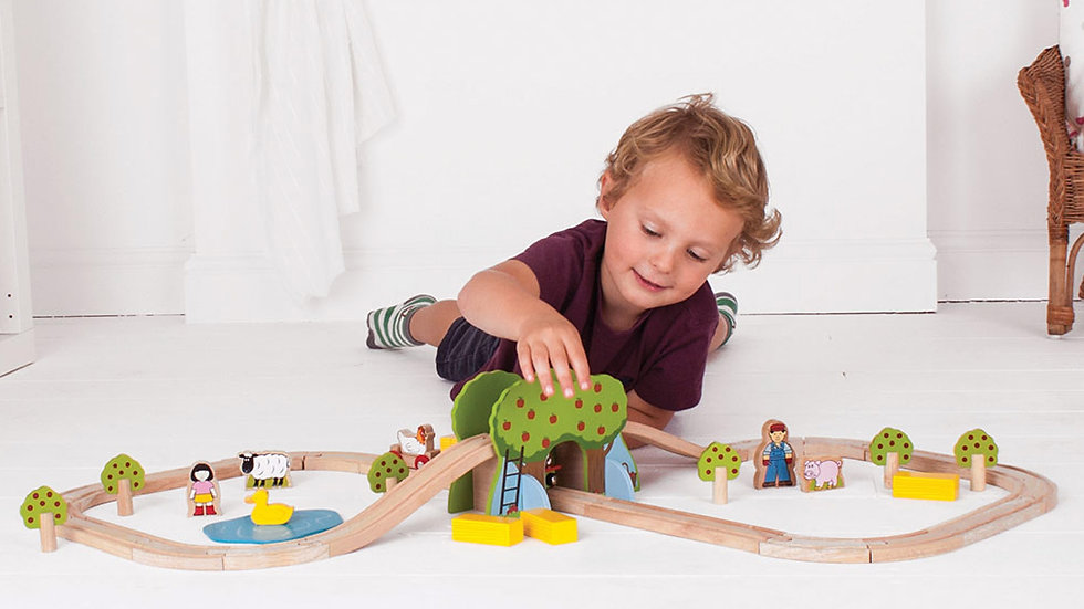 Big Jigs Farm Train Set