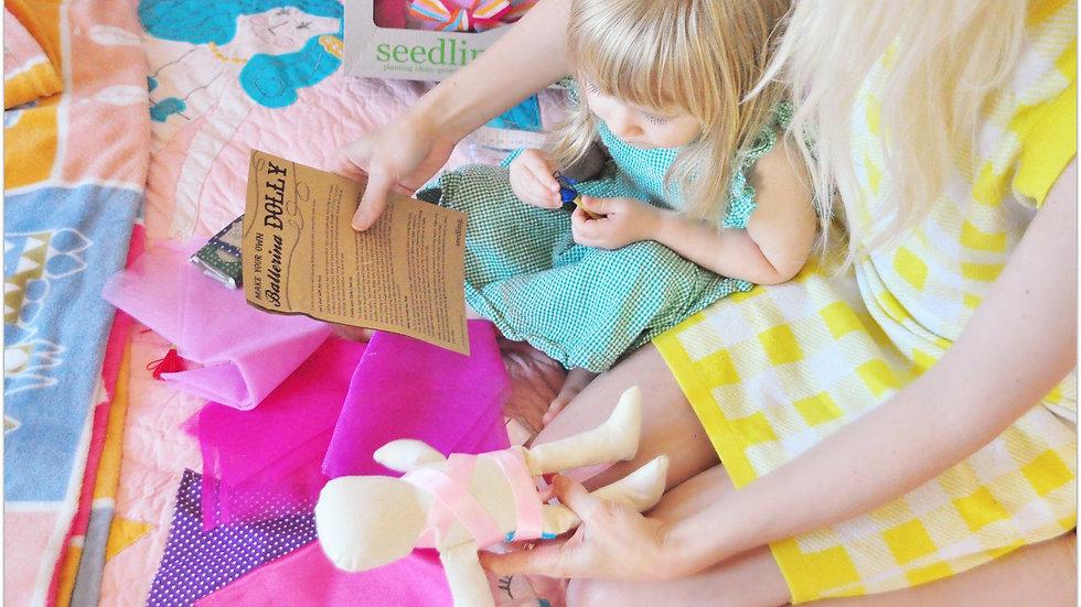 Seedling Design Your Own Ballerina Doll