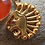 Thumbnail: Sally Dudmesh Cyrus the Great Lion Gold Plated Pendant Necklace