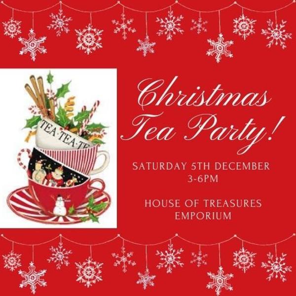 Christmas Tea Party!