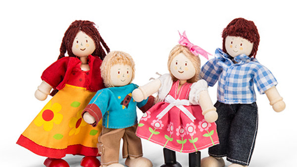 Budkins Doll Family