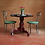 Thumbnail: Antique Asian Carved Wooden Tripod Table