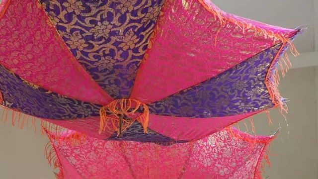 Multicoloured Indian Parasol