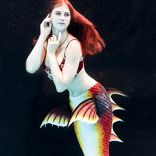 Mermaid Tail Full Silicone