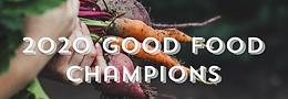 La Teranga Food Baskets is the Good Food Champion Award Winner