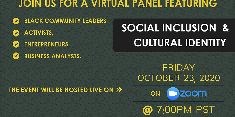 Online conversation on Social Inclusion & Cultural Identity