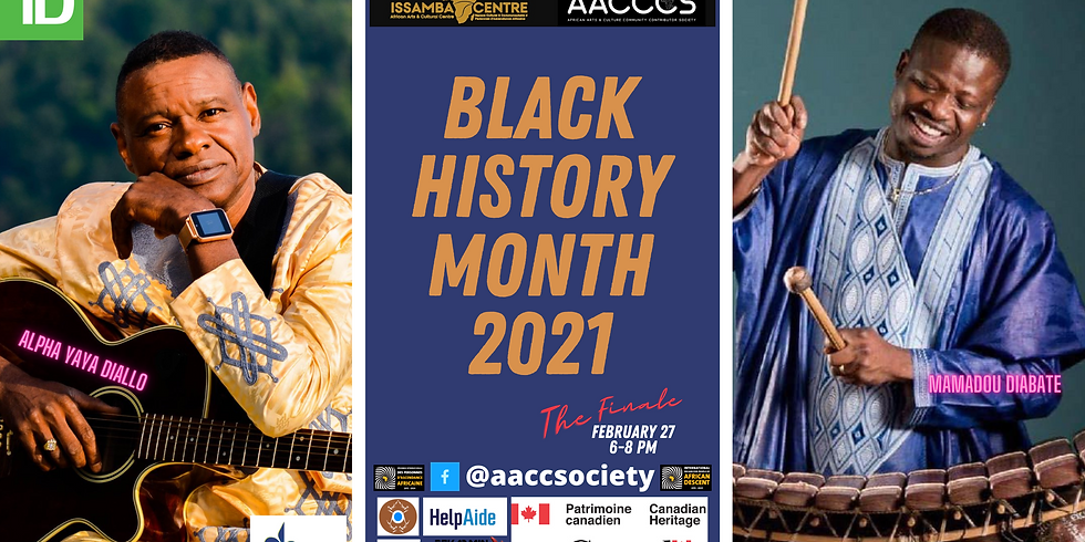 Black History Month 2021 - Our FINALE