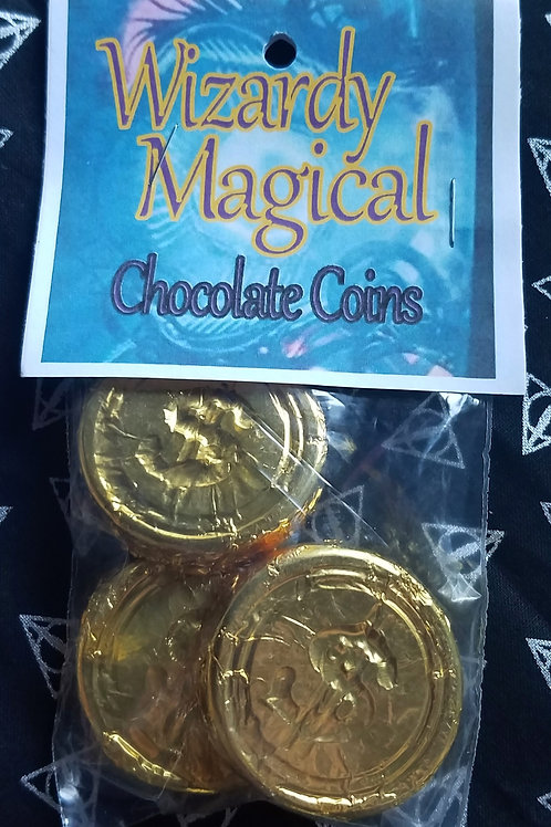 Wizardly Magical Chocolate Coins