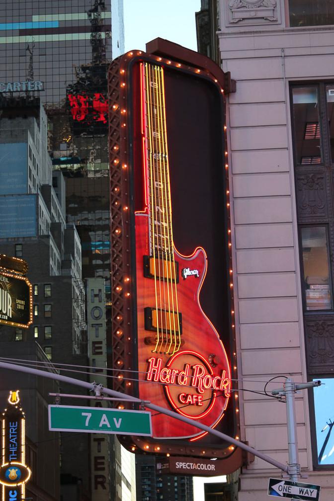 DELALLEE Jacques - Hard Rock Café
