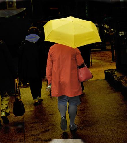 Anni-Noel PINSON - Les Parapluies 1