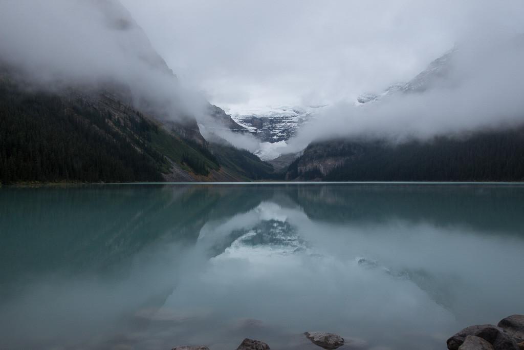 GESSAT Gérard - Glacier dans le Lac
