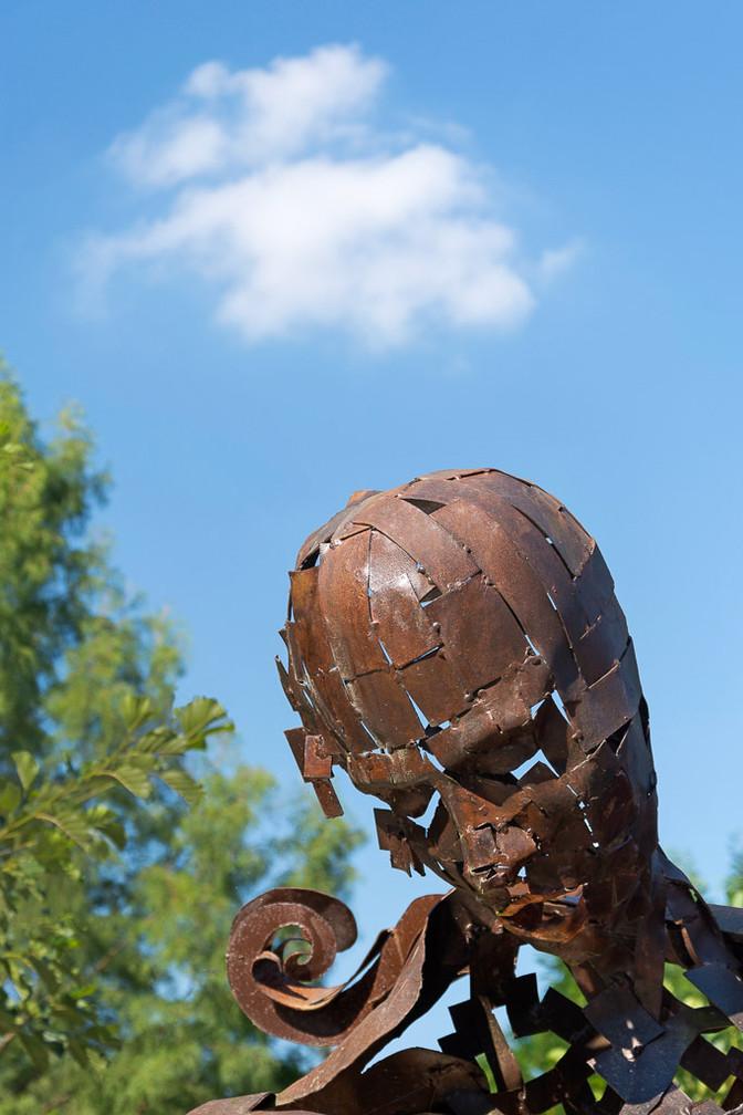 ERRECONDO Anne Marie - Statue Bronze