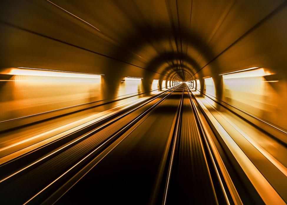 ROBIN Patrick - A fond dans le Tunnel