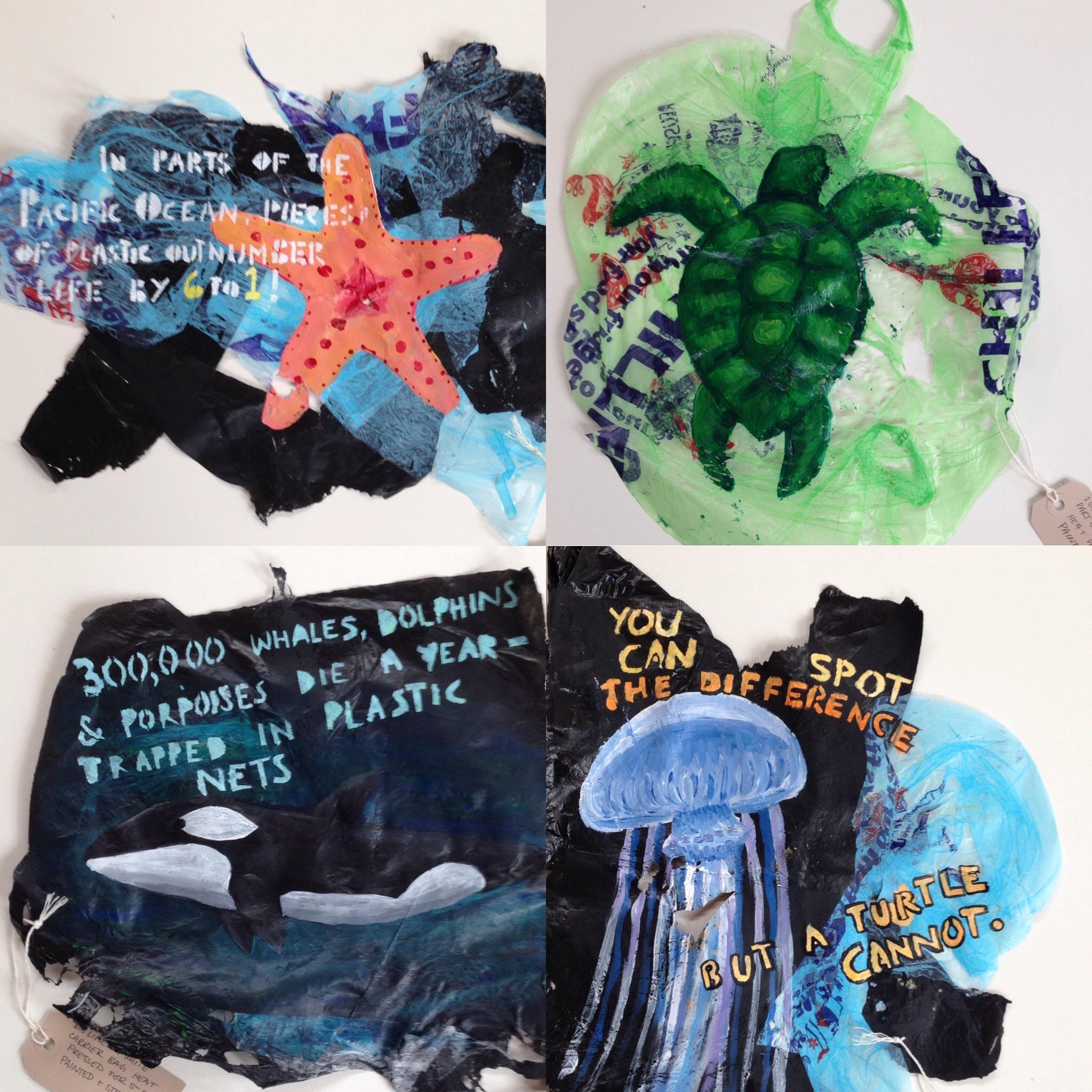 Plastic Sea Life Project