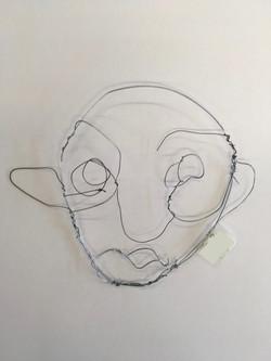 Year 9 Wire Portrait