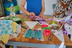 Bunting Making Workshop 2014
