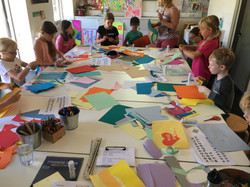 Colour and Collage Workshop 2018